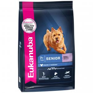 Eukanuba  Small Breed Senior Chicken Dry Dog Food