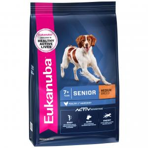 Eukanuba  Senior Chicken Dry Dog Food