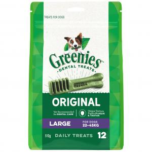 Greenies Large - Dental Chews For Large Dogs Mega Treat Pack (510g)
