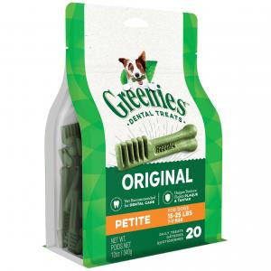 Greenies Petite - Dental Chews For Small Dogs Treat Pack (340gm)