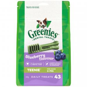 Greenies  Blueberry Teenie Dental Chews Dog Treats 340g