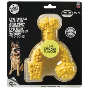 Tasty Bone  Chicken Nylon Trio Dog Chew Toy