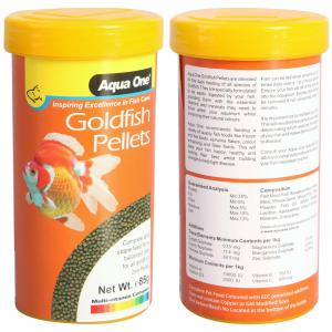 Aqua One  Goldfish Pellet Food 2mm