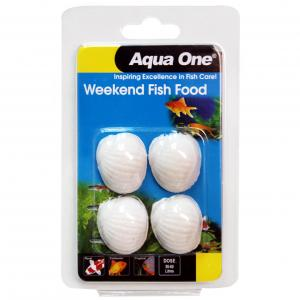 Aqua One Ao Block Weekend Fish Food 20g