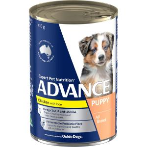 Advance Puppy - Chicken And Rice - Canned Puppy Food 410g