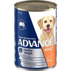 Advance All Breed - Weight Control - Chicken And Rice - Canned Dog Food 405g