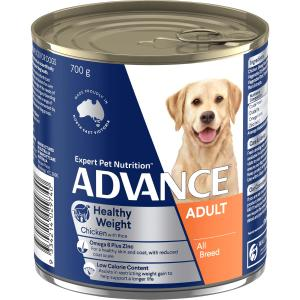 Advance All Breed - Weight Control - Chicken And Rice - Canned Dog Food 700g