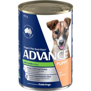 Advance  Growth Puppy Lamb & Rice Wet Dog Food 410g