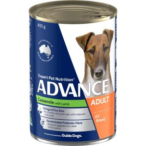 Advance  Adult Casserole With Lamb Wet Dog Food 410g