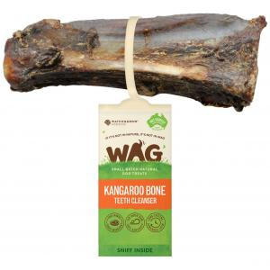 WAG Kangaroo Teeth Cleanser Bone Dog Treat Small