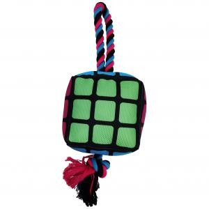 Bark-a-boo  Totally Pawsome Color Cube Rope Tug