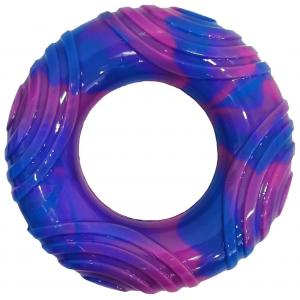 Bark-a-boo  Totally Pawsome Tiedye Tpr Swirl Ring