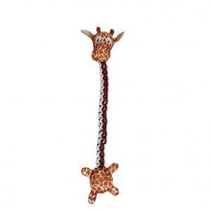 Bark-a-boo  Braided Rope Long Toys Giraffe Dog Toy