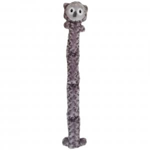 Bark-a-boo  Plush Long Toy With Squeak Owl Dog Toy
