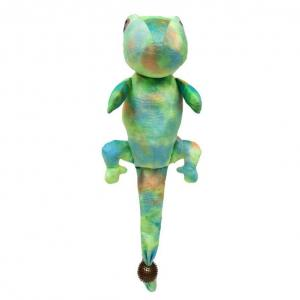 Bark-a-boo  Tpr Spike Ball Tails Green Gecko Dog Toy