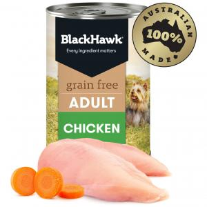 Black Hawk Grain Free Adult Chicken Wet Dog Food