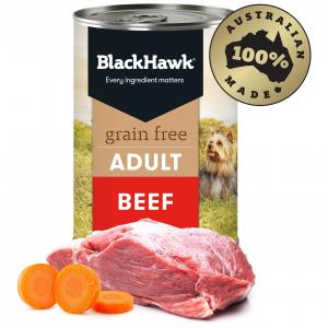 Black Hawk Grain Free Adult Beef Wet Dog Food