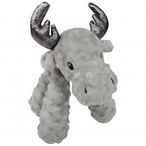 Bark-a-boo Frozen In Time Long Legs Moose Dog Toy Medium