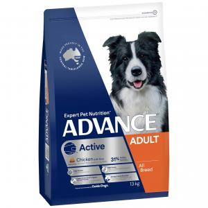 Advance  Active Adult Chicken With Rice Dry Dog Food 13kg