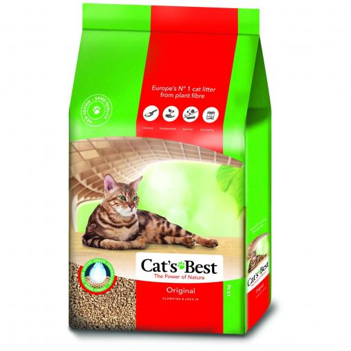 JRS Cat's Best Oko Plus Clumping Cat Litter thumbnail