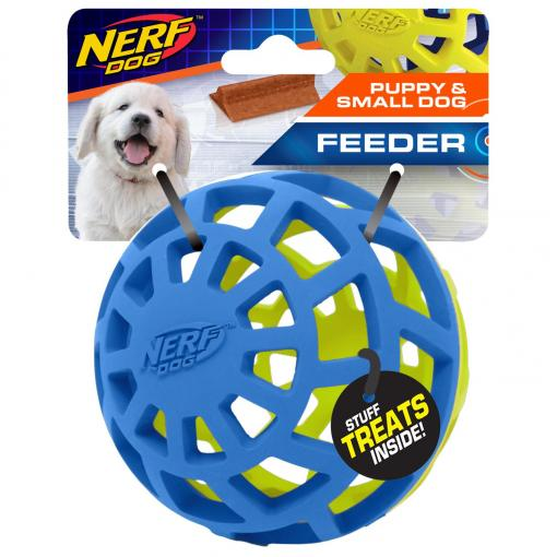 NERF NERF 3.8in EXO Ball Blue/Green thumbnail