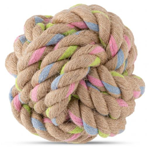 Beco Things Beco Hemp Rope Ball Dog Toy thumbnail