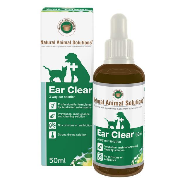 NAS Natural Animal Solutions Ear Clear 50ml