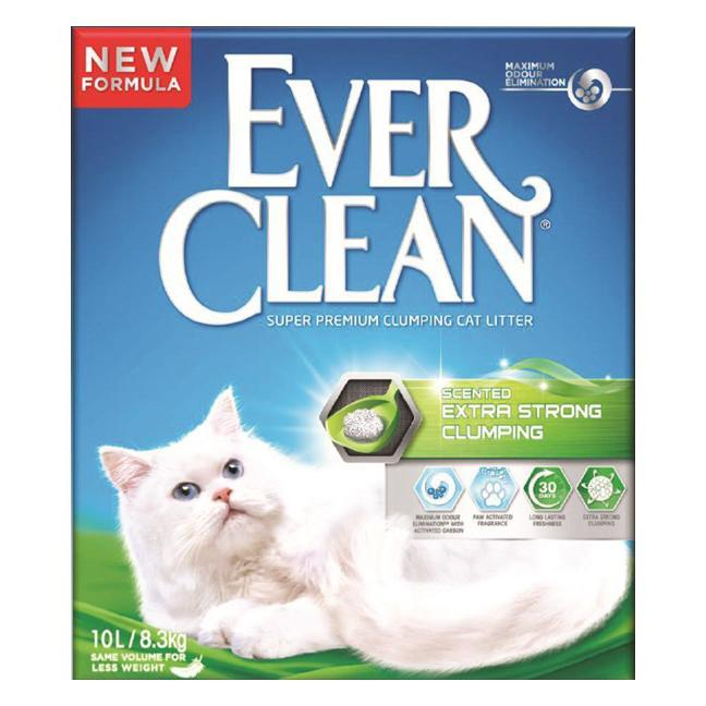 EVER CLEAN Ever Clean Scented  Extra Strong Clumping Cat Litter 10L