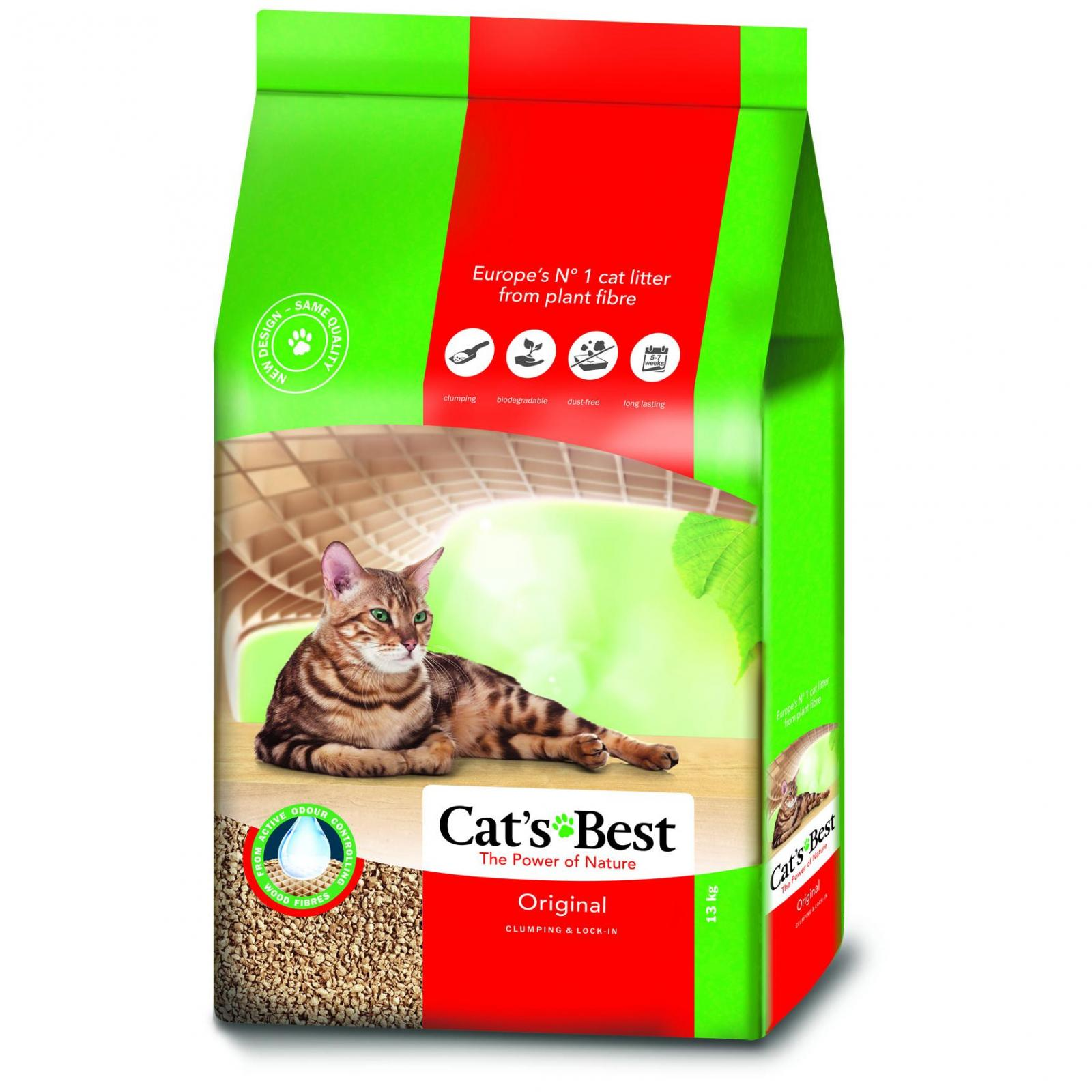 JRS Cat's Best Oko Plus Clumping Cat Litter