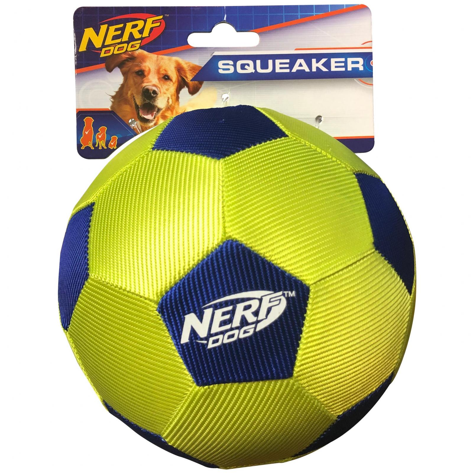 NERF NERF 5in AirTuff Soccer Ball Blue/Green