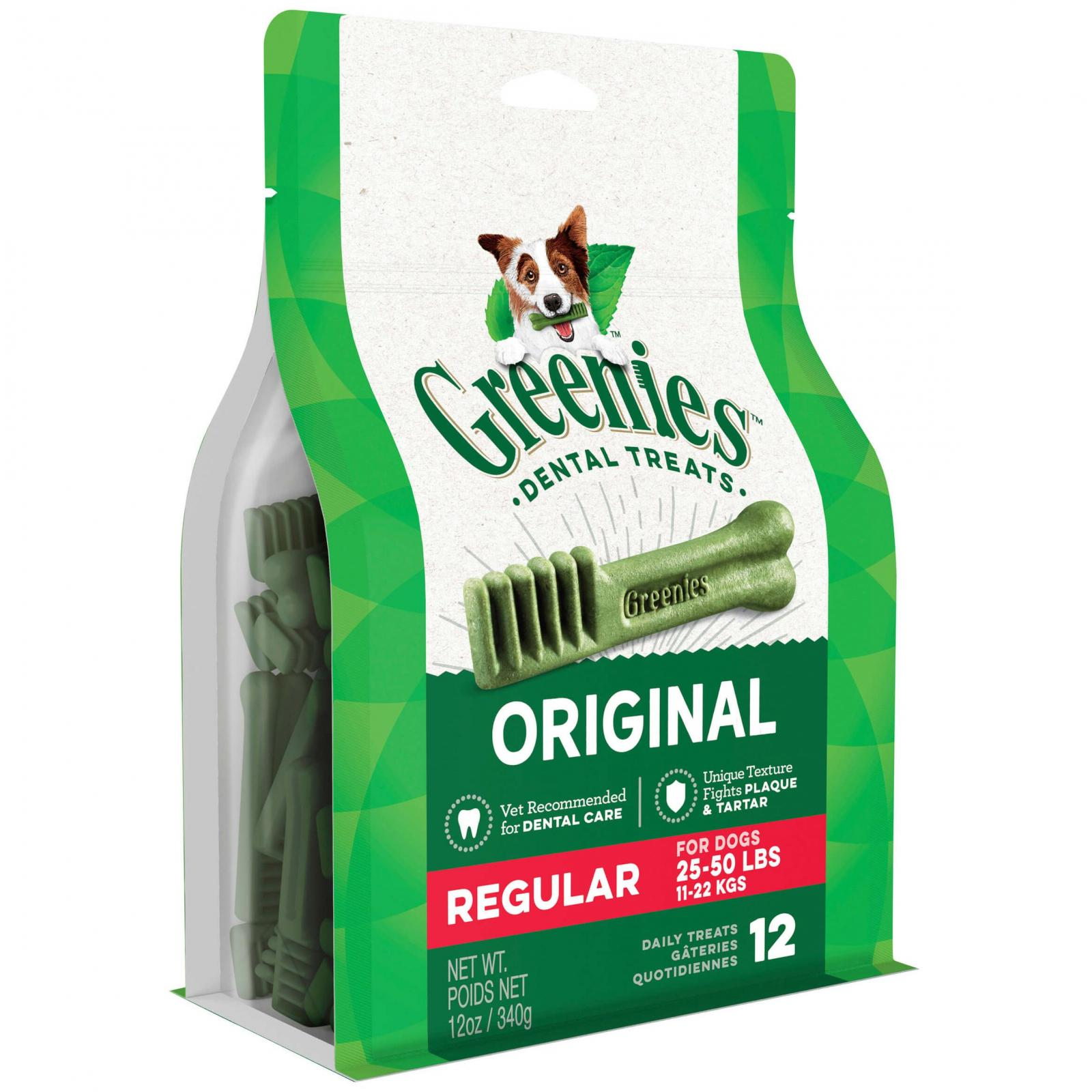 Greenies Greenies - Regular - Dental Chews for Medium Dogs