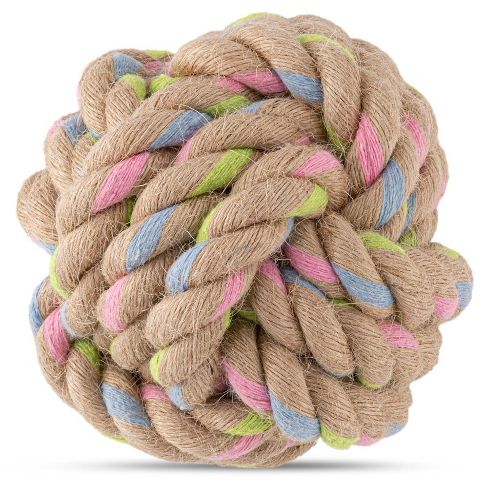 Beco Things Beco Hemp Rope Ball Dog Toy